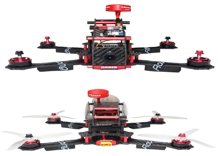 Arris X-Speed 280 V2 FPV Quadcopter Racing Drone Review