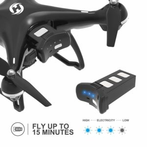 Holy Stone GPS FPV RC HS100 Drone flying time