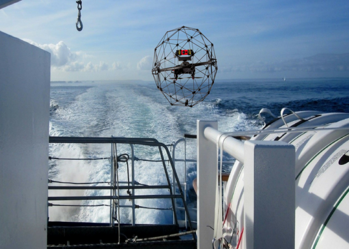 Drones in the marine environment