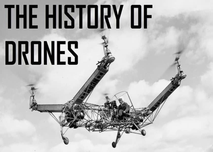 amazing 100 tear drone history timeline