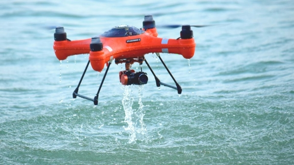 drone use in the marine world