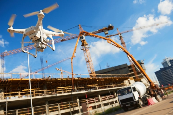 surveying structures using drones