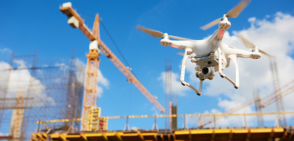 drones in construction industries