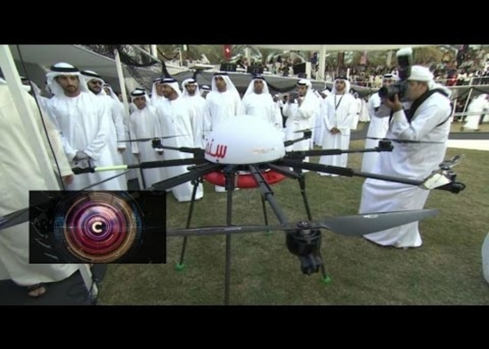 drones for good dubai $1m competition