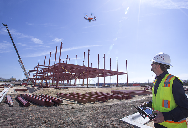 drones for surveying