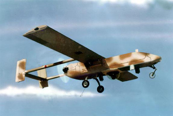 brief history of the military drone