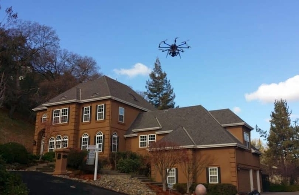 real estate drones