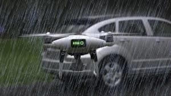 raining drones