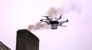 air pollution and drones